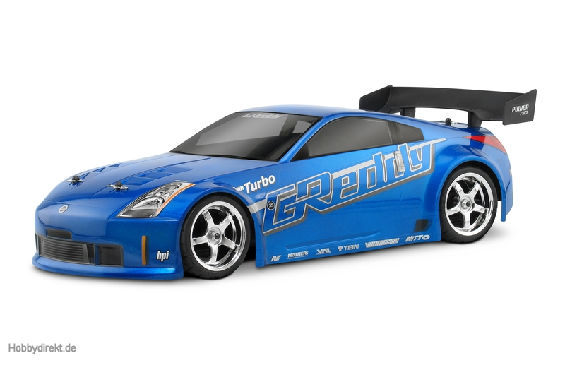 Nissan 350Z Greddy TwinTurbo Karo(200mm) hpi racing H17518
