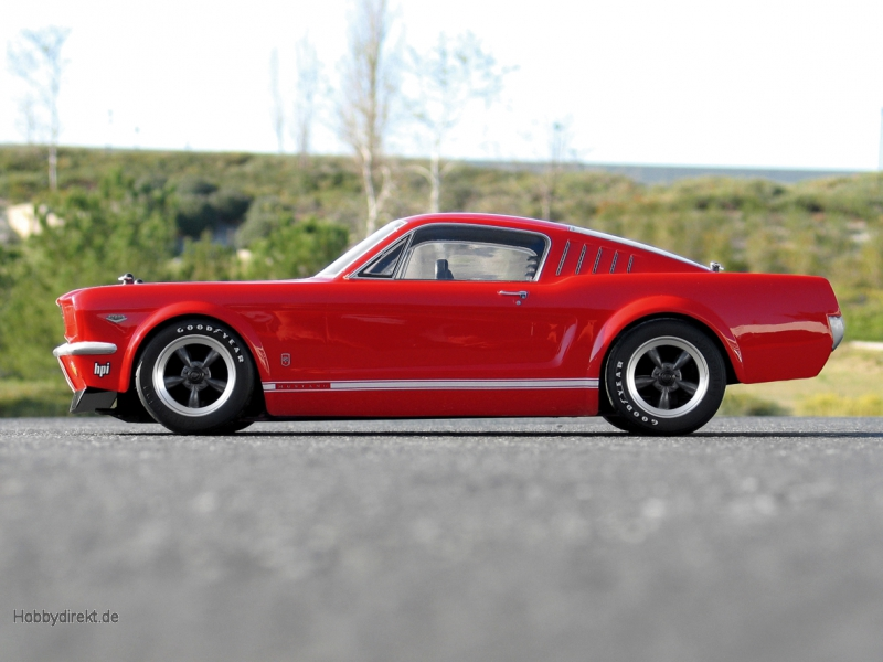 Ford Mustang GT 1966 Karosserie (200mm) hpi racing H17519