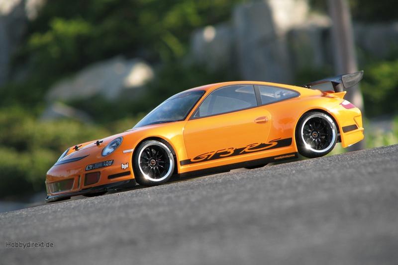 Porsche 911 GT3 RS Karosserie (200mm) hpi racing H17541