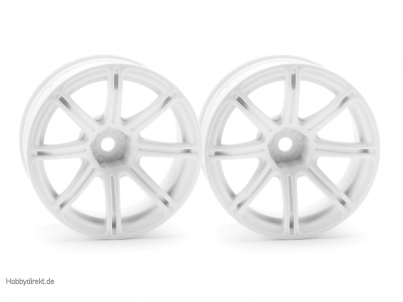Work Emotion XC8 Felge 26mm weiss (9mm) hpi racing H3305