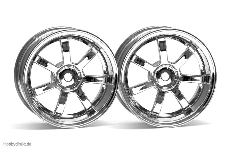 RG Lights 57S-Pro Felge chrom (3mm) hpi racing H3316
