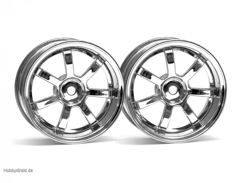 RG Lights 57S-Pro Felge chrom (6mm) hpi racing H3317