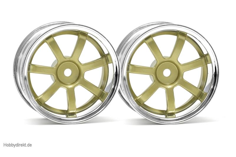 RG Lights 57S-Pro Felge chr./gold (3mm) hpi racing H3319