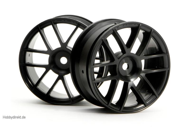 6-Speichen Split Felge 26mm (schwarz) hpi racing H3796