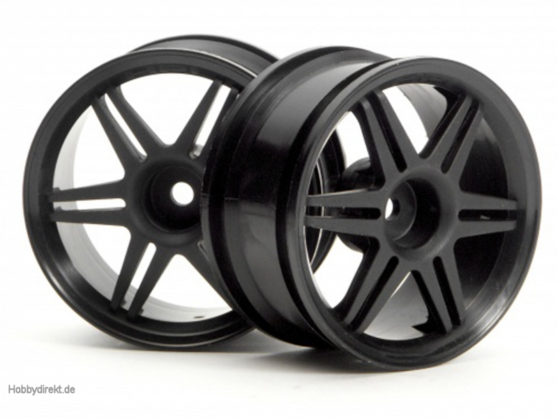 12-Speichen Corsa Felge 26mm (schw./3mm) hpi racing H3801