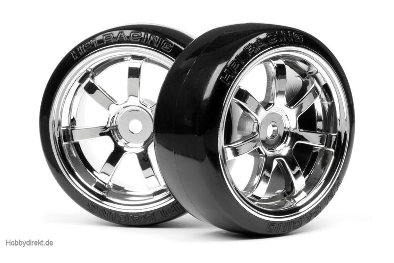 T-Drift Rei./Rays Felge(26mm/chrom) hpi racing H4739