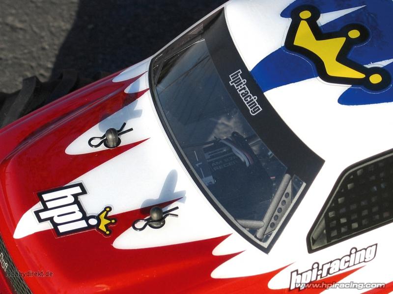 Mini GT-1 Karosserie (klar/Wheely King) hpi racing H7122