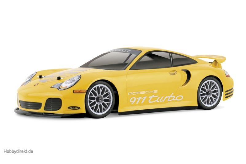 Porsche 911 Turbo Karosserie (190mm) hpi racing H7335