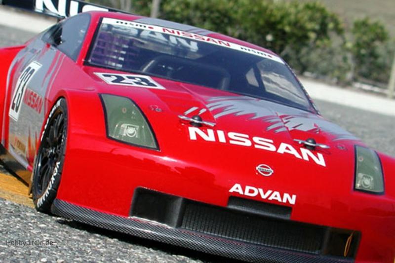 Nissan 350Z Nismo GT Karosserie (190mm) hpi racing H7385