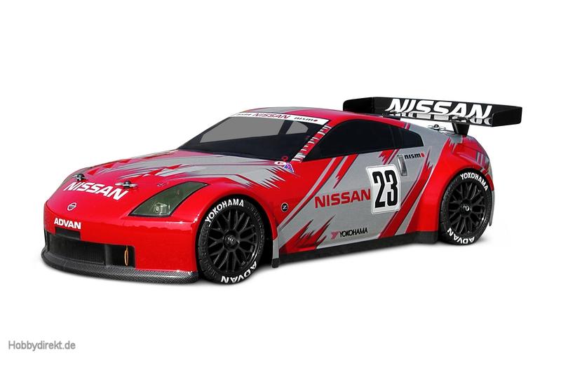 Nissan 350Z Nismo GT Race Karo (200mm) hpi racing H7485