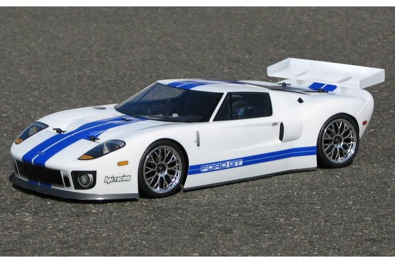 Ford GT Karosserie (200mm) hpi racing H7495