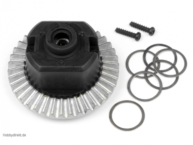 Differential Set (montiert/Wheely King) hpi racing H87600