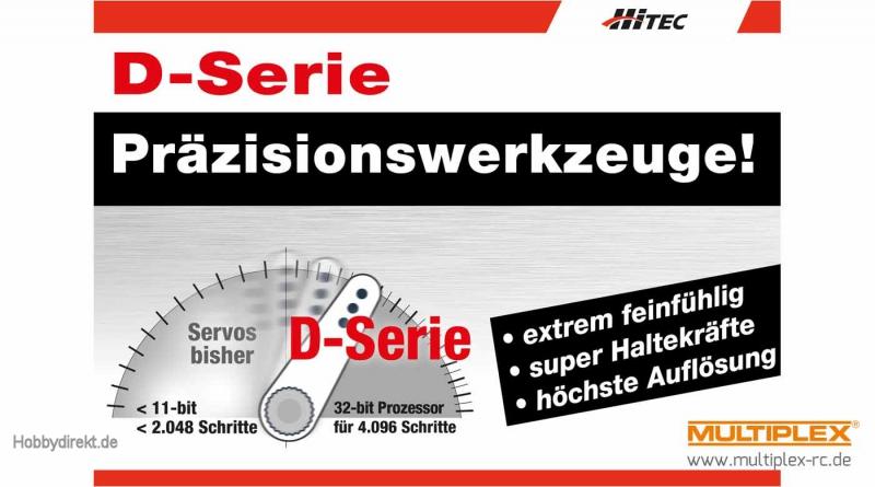 Servo D646WP Multiplex 1-00072