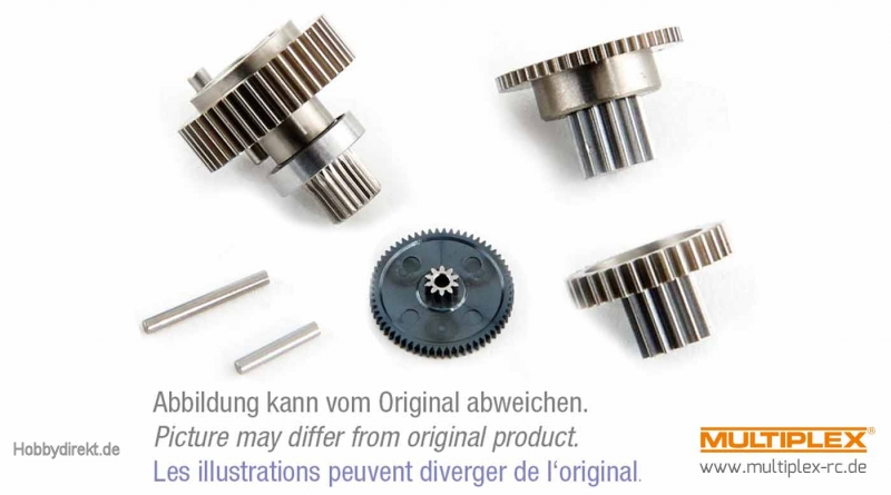 Zahnradsatz D845WP Hitec 119037