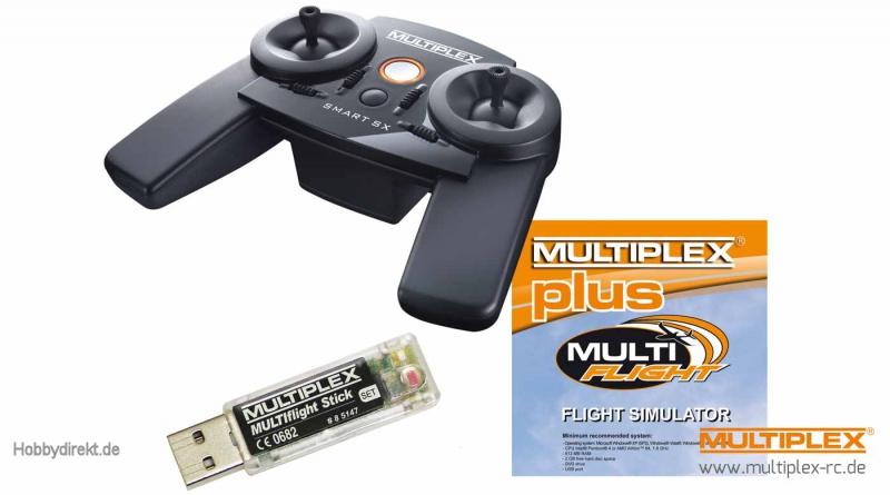 MULTIflight PLUS Set SMART SX 6  Mode 2+4 Multiplex 15305