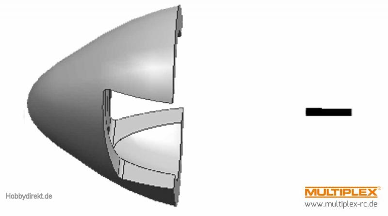 Spinner STUNTMASTER Multiplex 224382