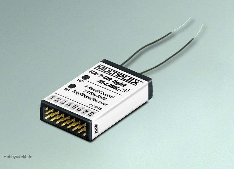Empfänger RX-6-DR light M-LINK 2,4 GHz Multiplex 55809