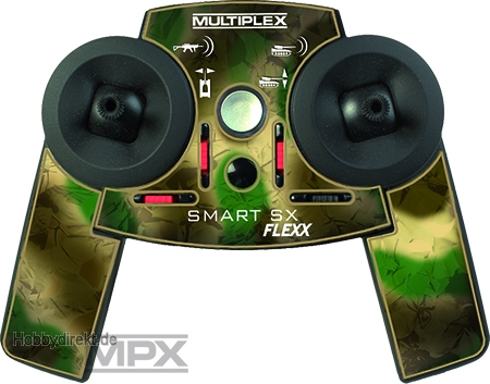 Smart SX  9 Flexx M-Link Aufkleber Panzer Multiplex 724401