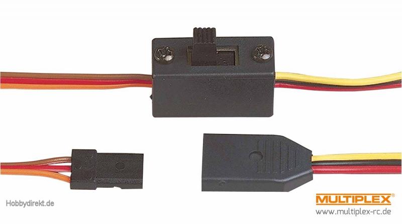 Multiplex Mini-Schalterkabel (UNI) Multiplex 85041 MPX85041 ...