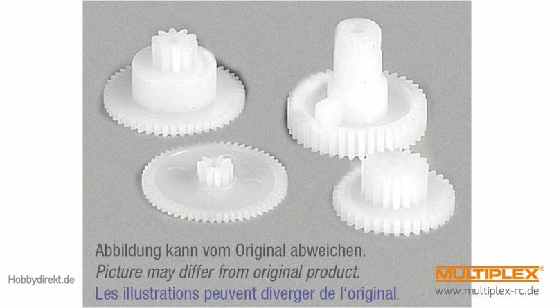 Zahnradsatz Tiny-S Multiplex 893291
