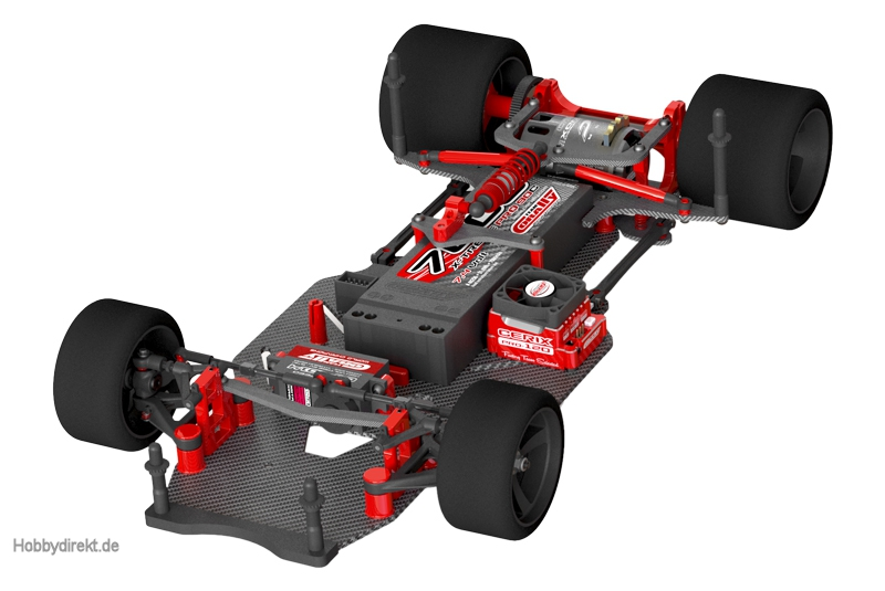 team corally ssx 10 car kit chassis ohne elektronik. Black Bedroom Furniture Sets. Home Design Ideas