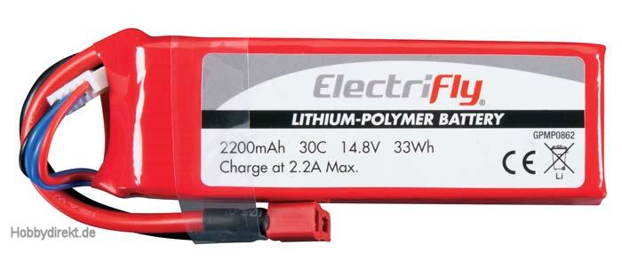 LiPo 4S 14,8 V 2200 mAh 30C  GPMP0862