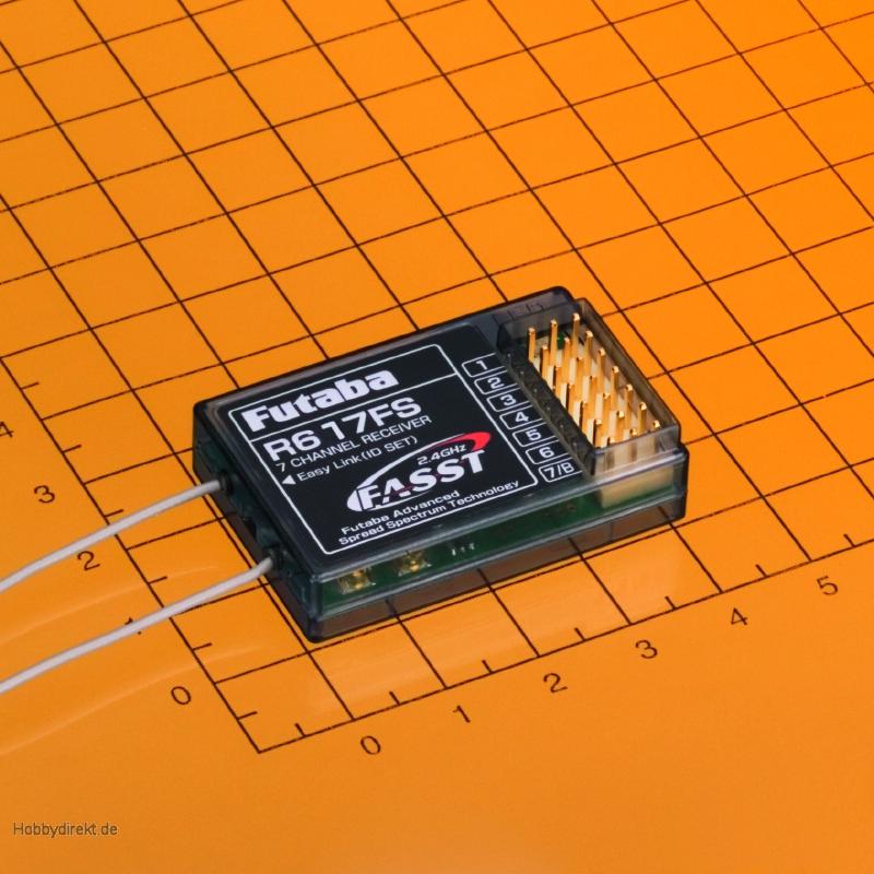 Futaba R617FS 7 Kanal 2,4 Ghz Fasst Empfänger