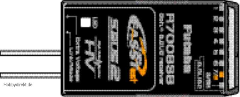 Empfänger R7008SB FASSTest© Futaba  F1001 1-F1001