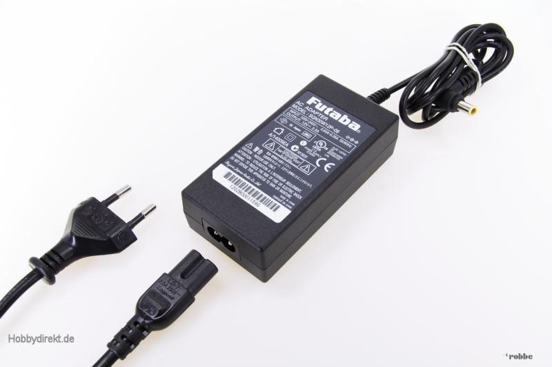 Ersatzladegerät T18MZ Futaba  F8073001 1-F8073001