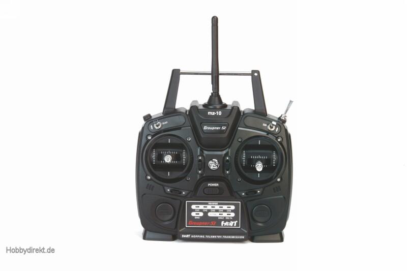 MZ-10 5 Kanal HoTT Fernsteuerung 2,4GHz Graupner S1001