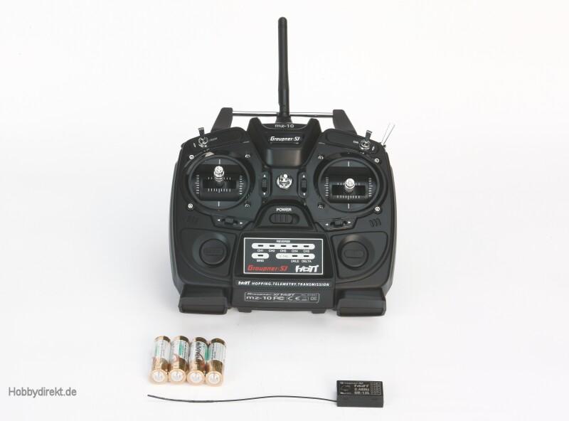 MZ-10 5 Kanal HoTT Fernsteuerung 2,4GHz Graupner S1001.CZ