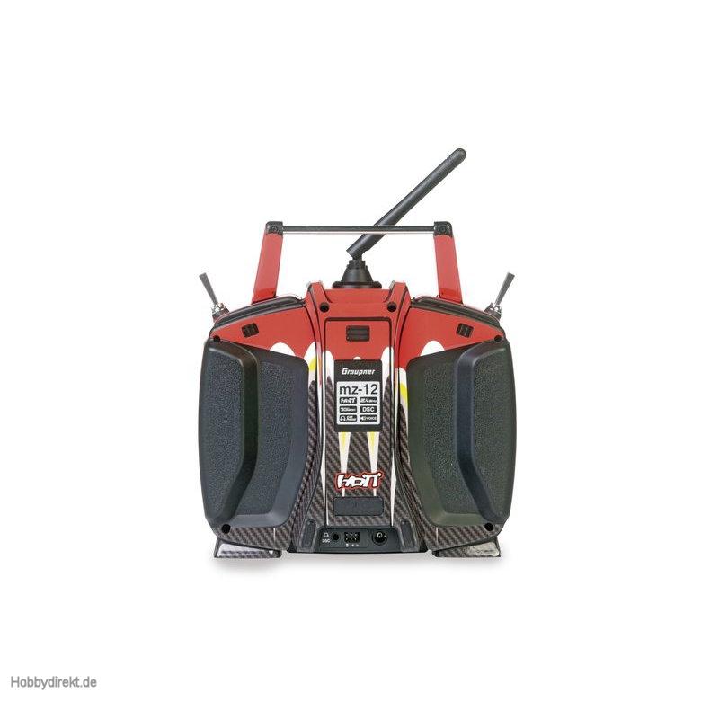 Dekorbogen mz-12 flame red yellow Graupner S1002.14R