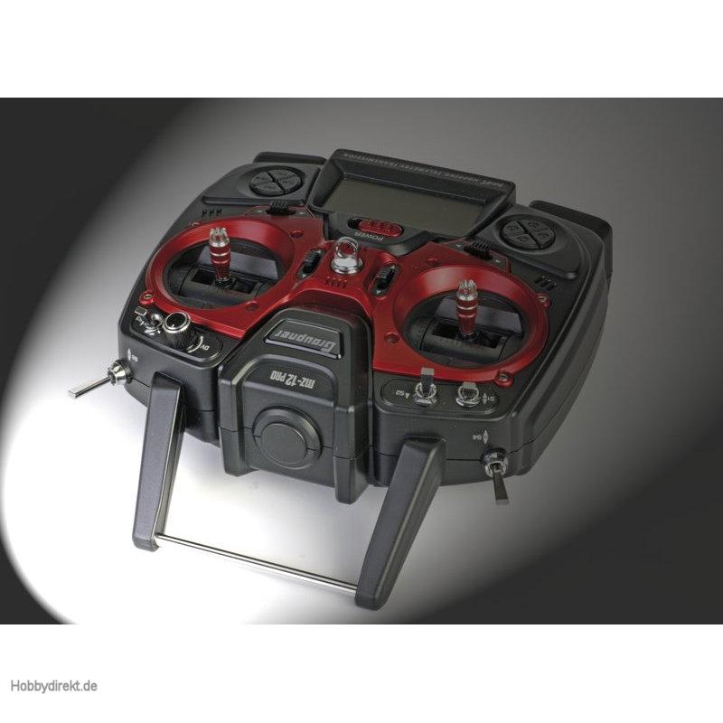 Fernsteuerung mz-12PRO HoTT GB  12Kanal Graupner S1002.PRO