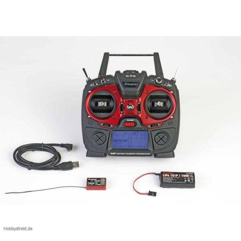 Fernsteuerung mz-12PRO HoTT DE 12Kanal Graupner S1002.PRO.DE