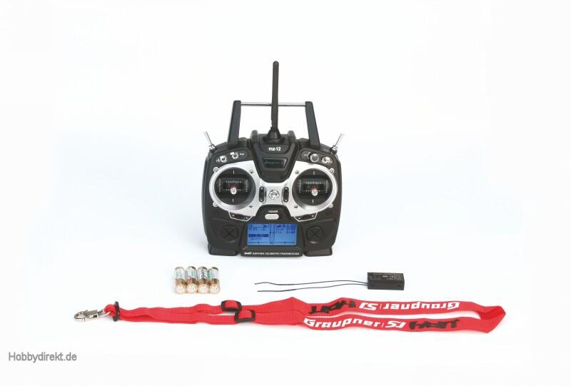 mz-12, 6 channel HoTT radio co Graupner S1002.IT