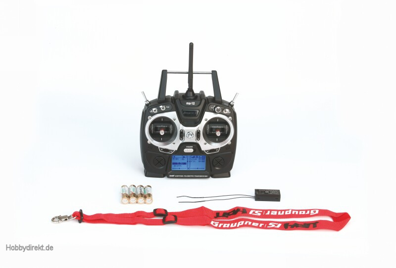 mz-12, 6 channel HoTT radio co Graupner S1002.ES