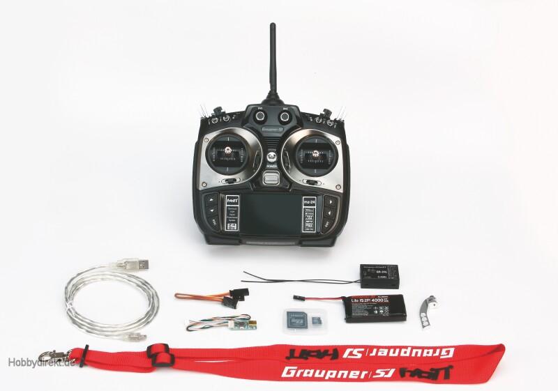 mz-24,12 channel HoTT radio co Graupner S1006.ES