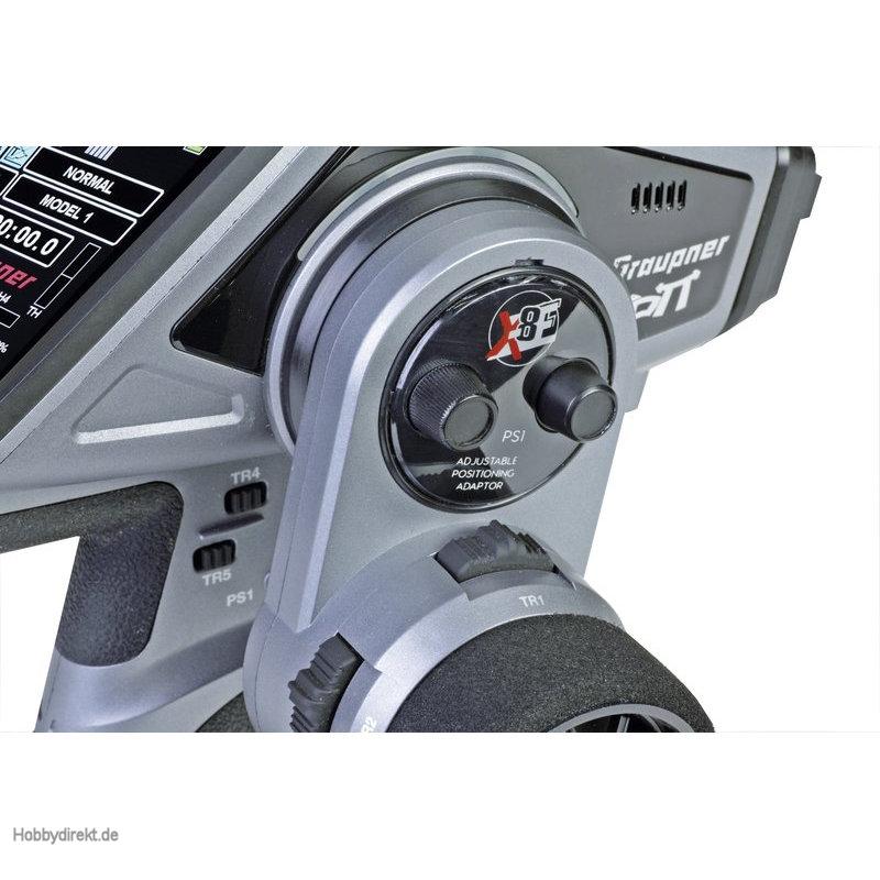 X-8E 4 Kanal HoTT Fernsteuerung 2,4GHz Graupner S1008.DE