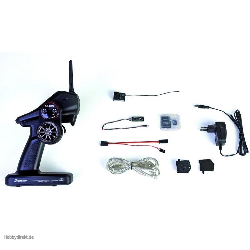 X-8N 4 channel HoTTColt radio Graupner S1018