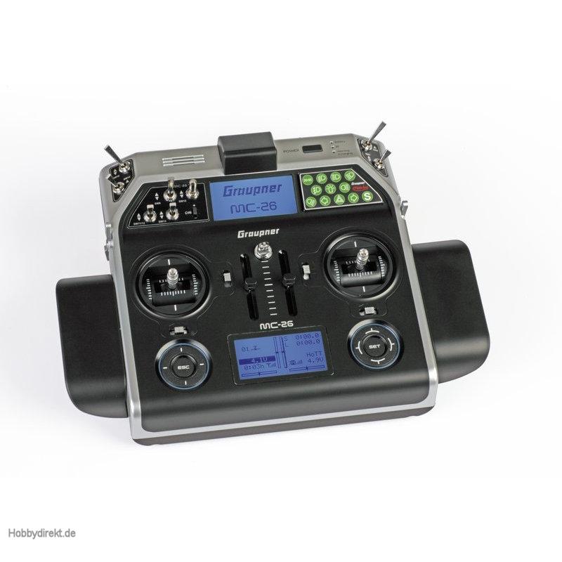 Sender einzeln mc-26 HoTT 16-K. + Kingbus Graupner S1036.77.SET