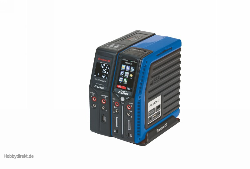 Polaron EX Combo charger blue Graupner S2001.BU