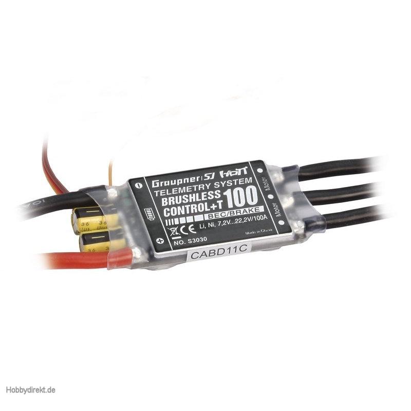 Brushless Control +T100, G6 Graupner S3030