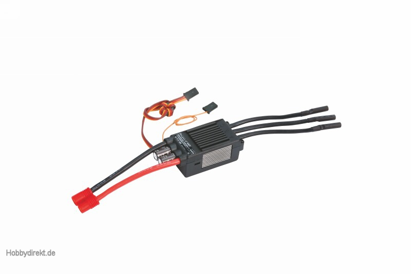 Regler BRUSHLESS CONTROL + T 120 Opto G6 Graupner S3032