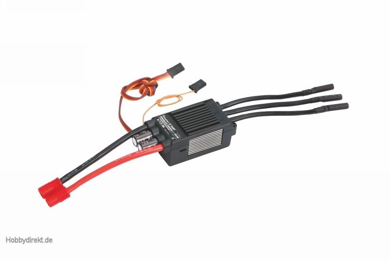 Regler BRUSHLESS CONTROL + T 120 HV G6 Graupner S3038