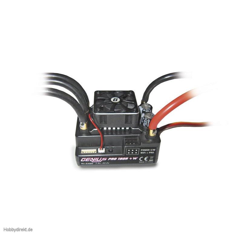 Regler brushl. GENIUS PRO 180R f. WLAN Graupner S3085