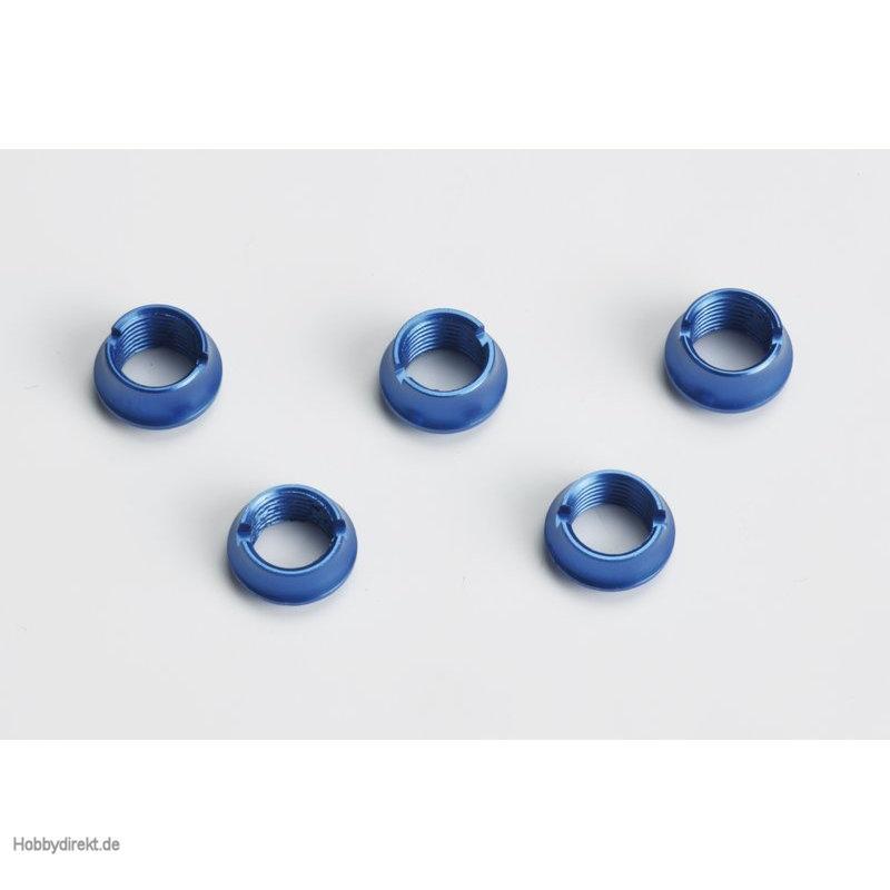 Ziermuttern f.Handsender, blau,3la, 2ku Graupner S8525.BU