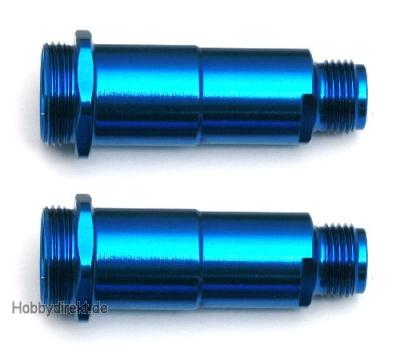 Dämpfer-Gehäuse, Alu, V2 RTR-Version 1 02, Blau (2) Thunder Tiger 0309884