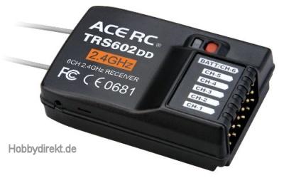 Empfänger 2.4G iFHss+ 6-Kanal TRS602DD Thunder Tiger AQ2297