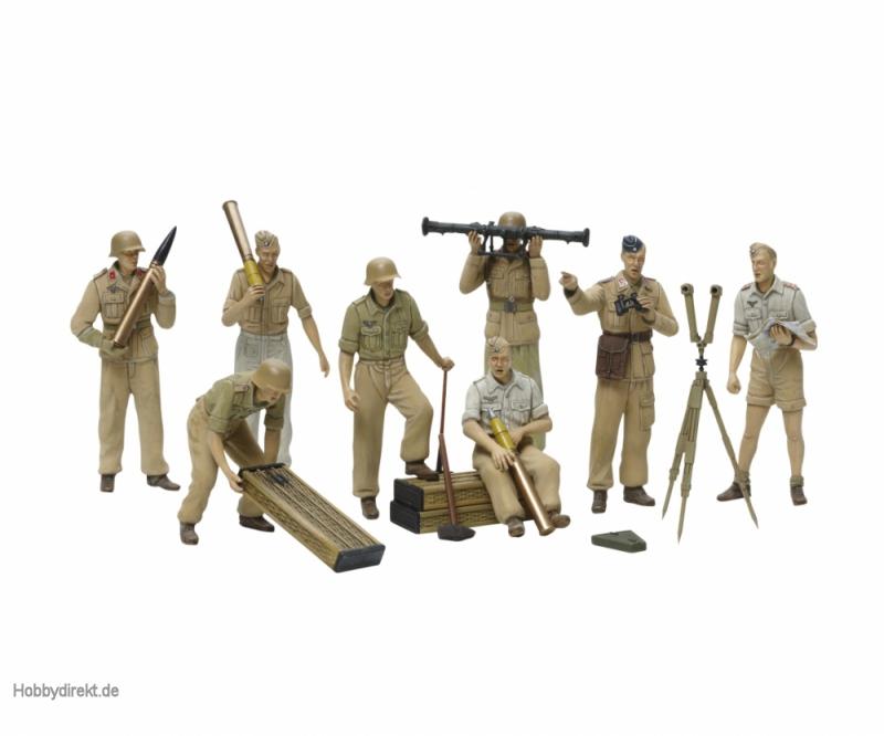 1:35 Fig.-Set DAK Luftwaffe Artillerie Tamiya 35343 300035343