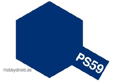 PS-59 Dkl. Metallic Blau Polycarb. 100ml Tamiya 86059 300086059